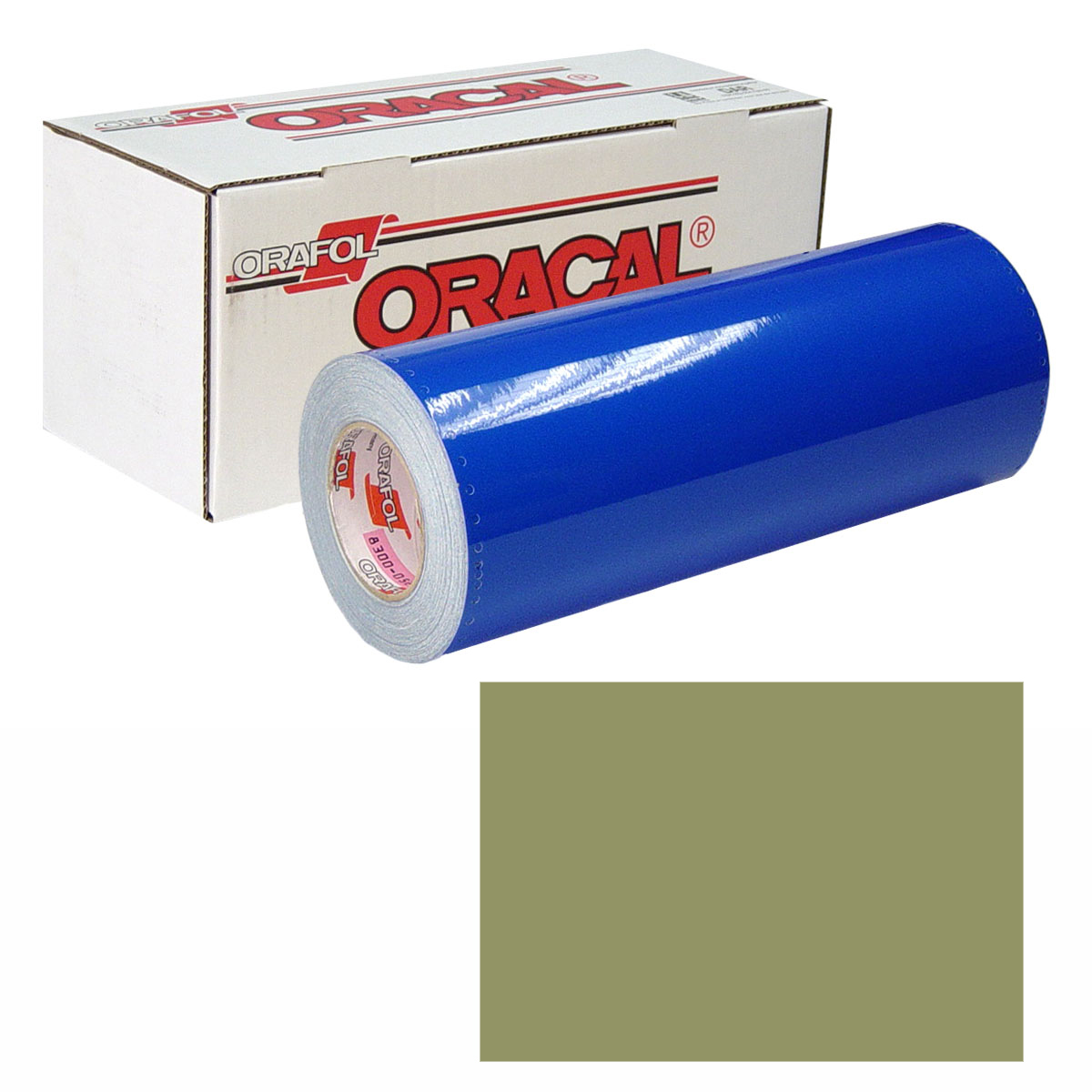 ORACAL 631 Unp 30In X 10Yd 493 Olive