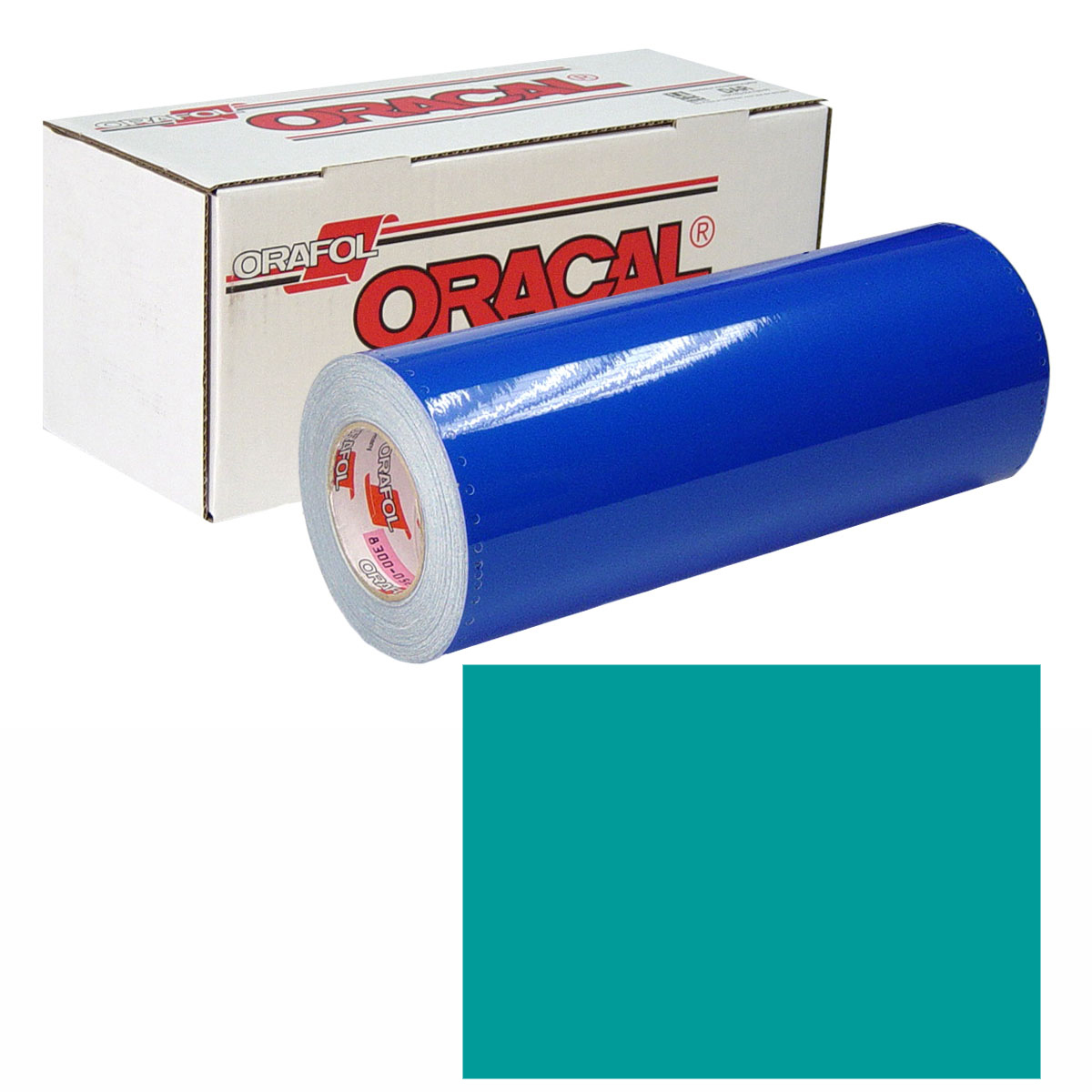 ORACAL 631 Unp 24in X 10yd 054 Turquoise