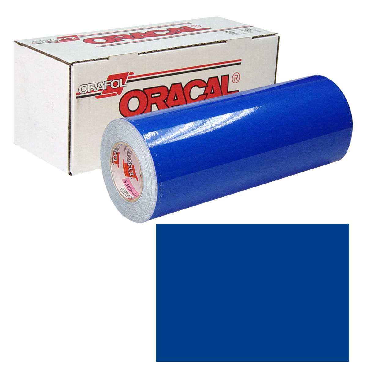 ORACAL 631 Unp 24in X 10yd 057 Traffic Blue