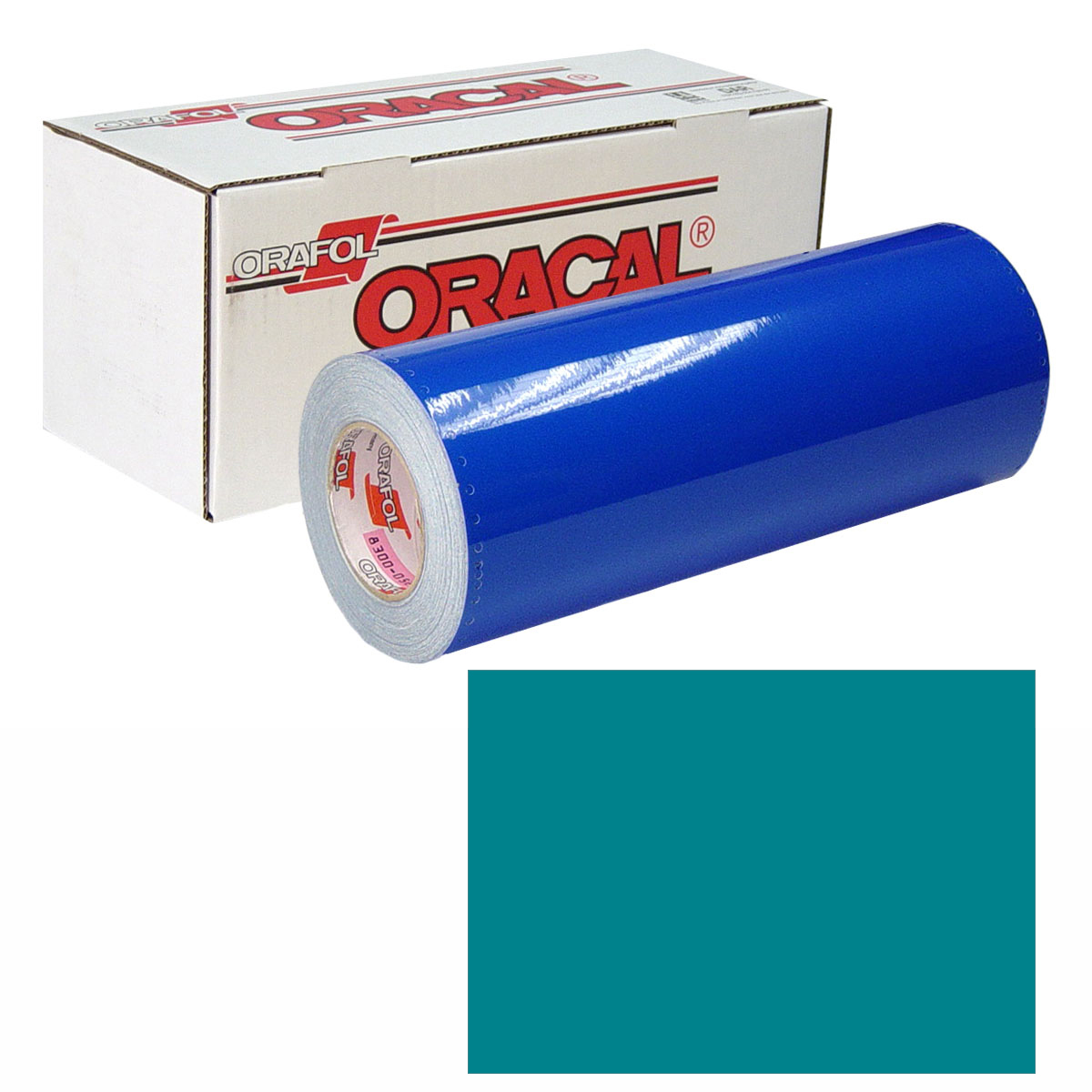 ORACAL 631 Unp 24in X 10yd 066 Turquoise Blue