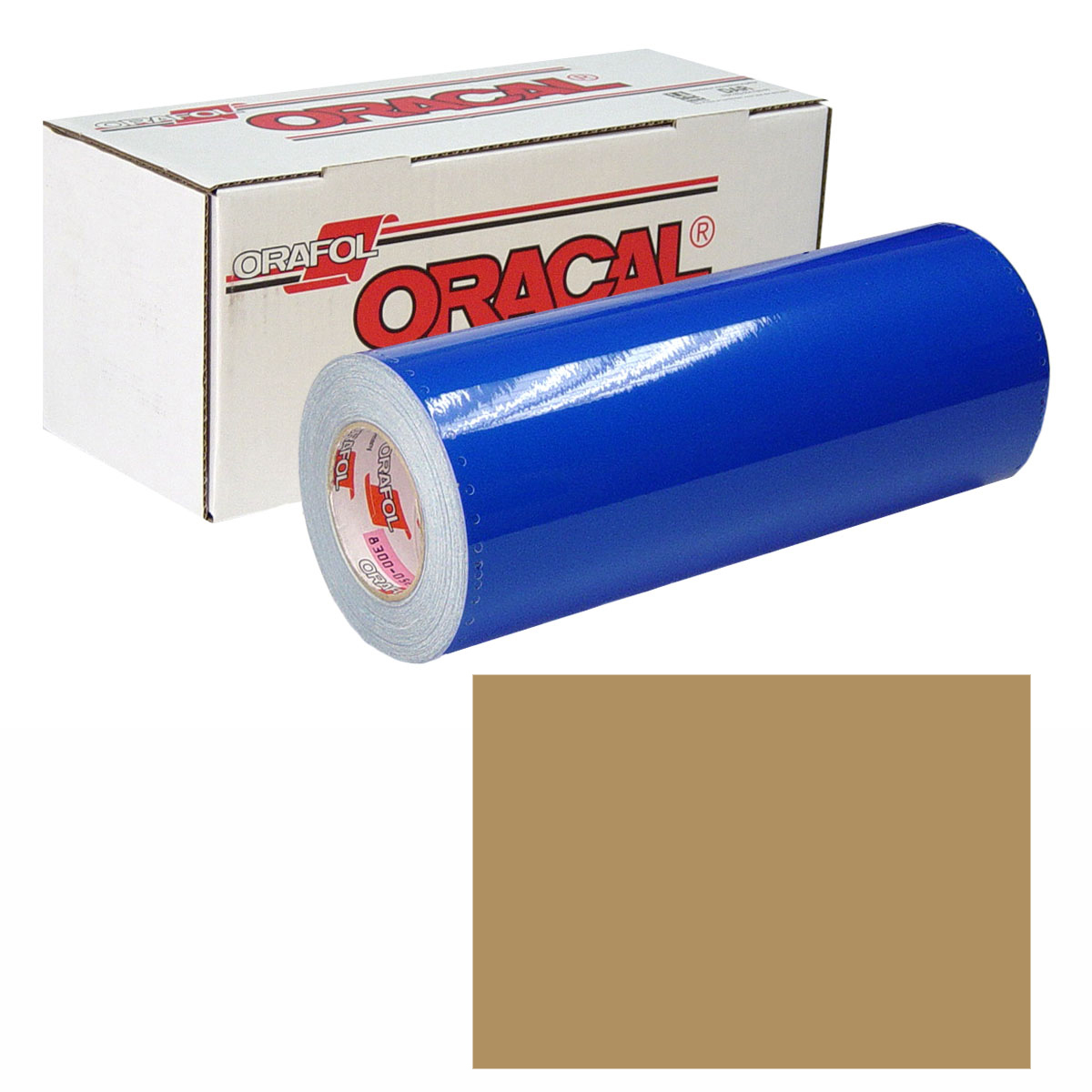 ORACAL 631 Unp 24in X 10yd 091 Gold Met