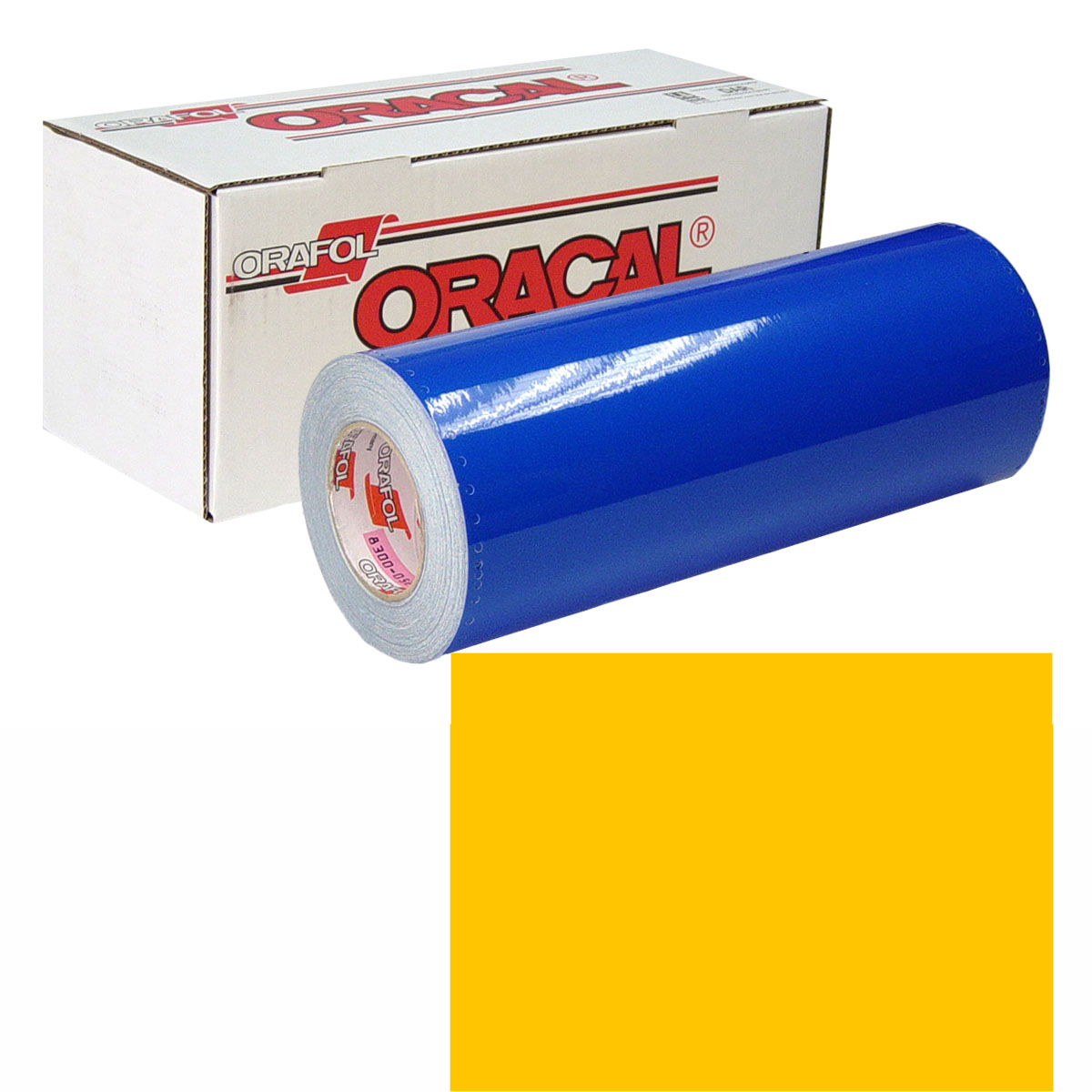 ORACAL 631 Unp 30in X 10yd 021 Yellow