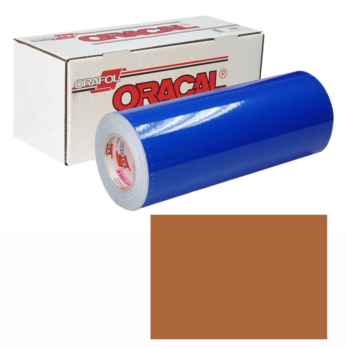 ORACAL 631 Unp 30in X 10yd 092 Copper Met