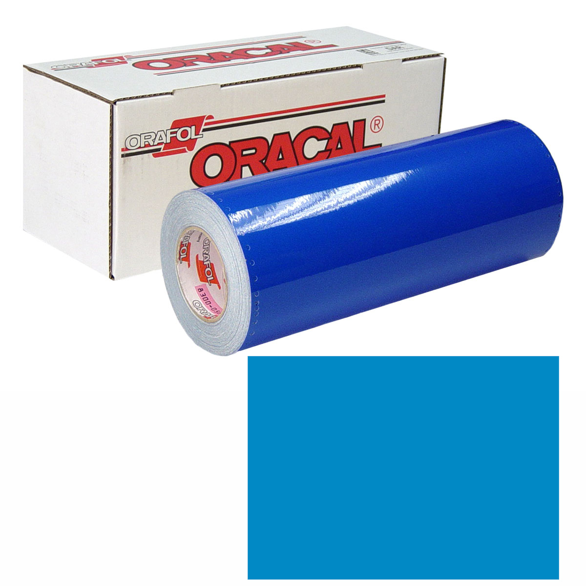 ORACAL 631 Unp 48in X 10yd 053 Light Blue