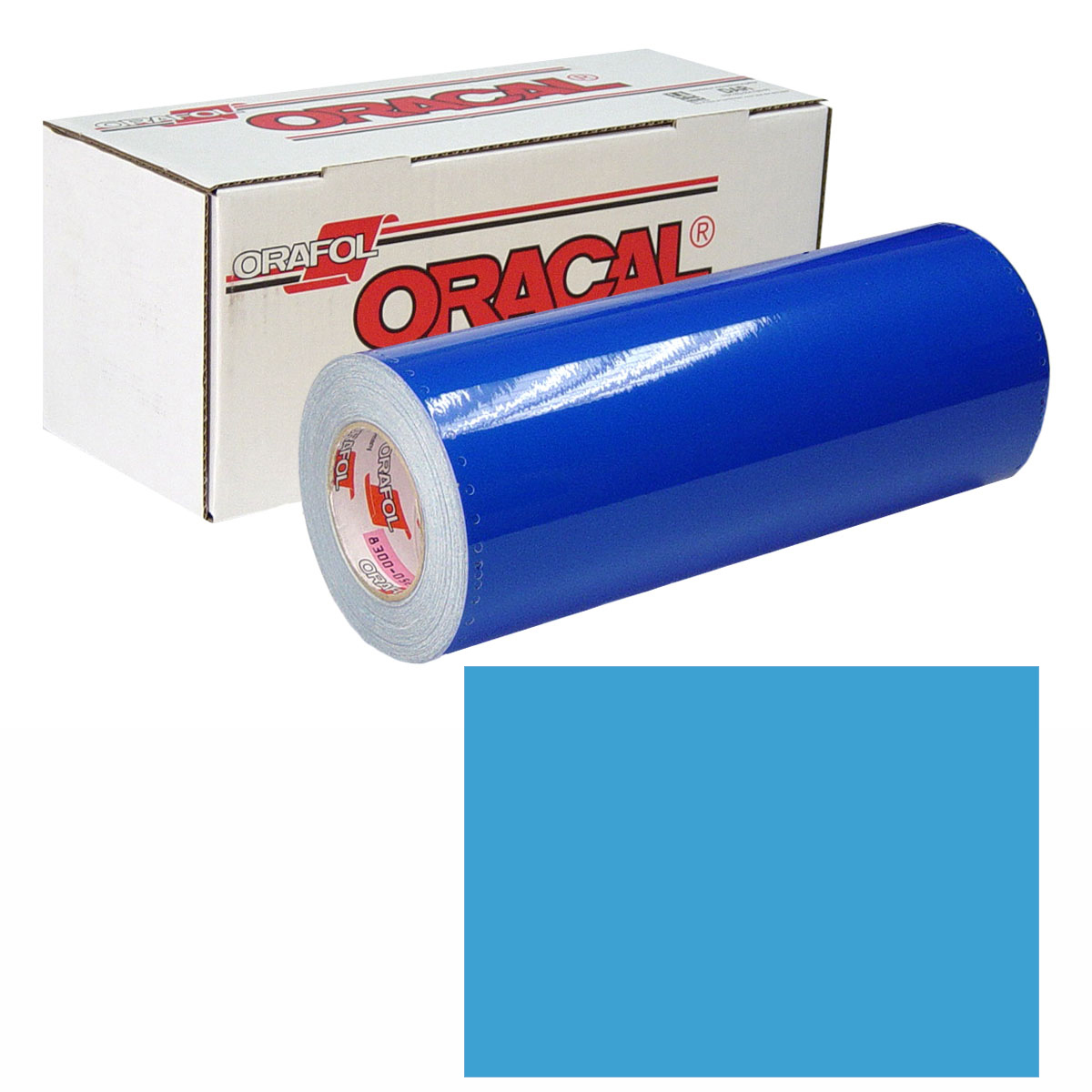 ORACAL 631 Unp 48in X 10yd 056 Ice Blue