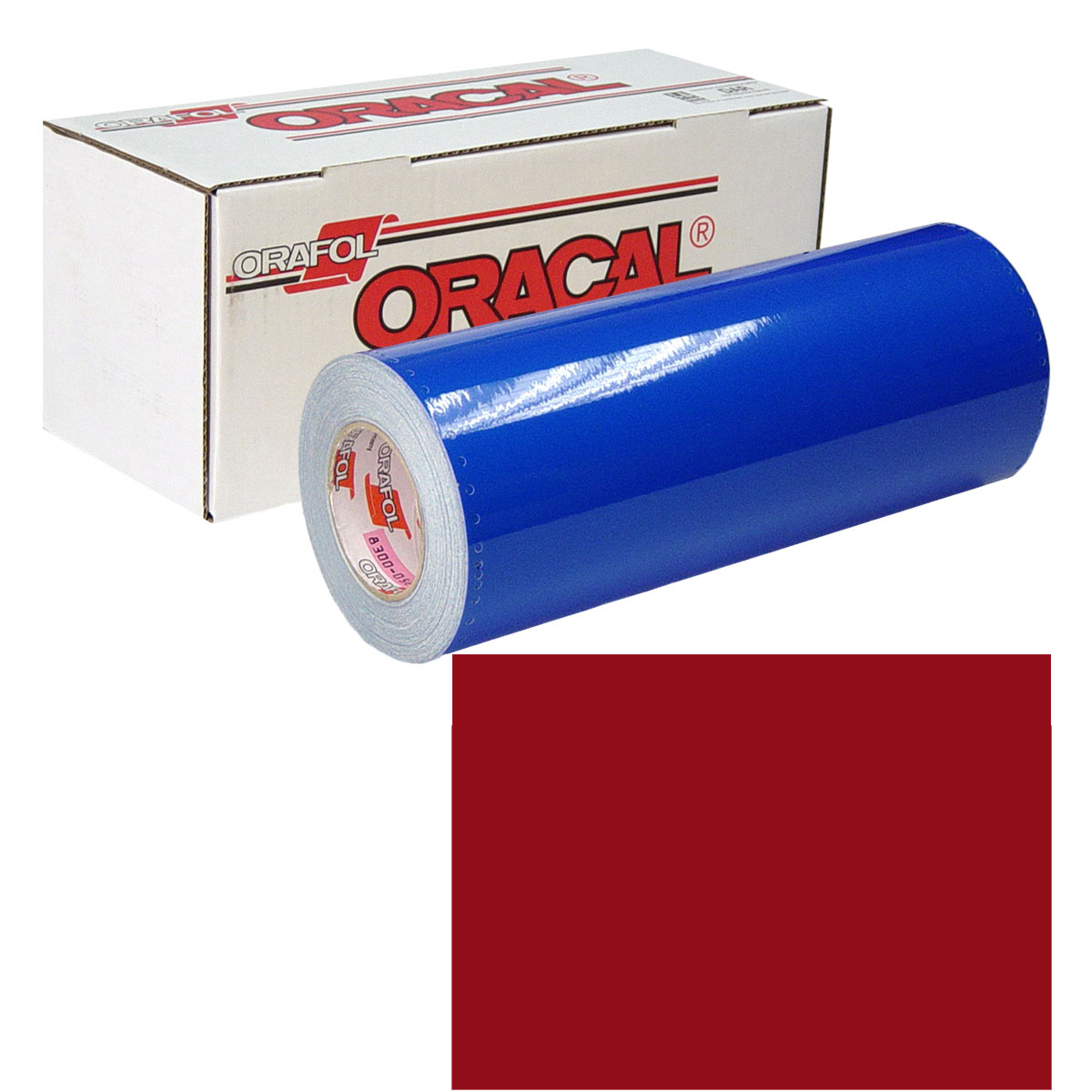ORACAL 631 Unp 30in X 50yd 030 Dark Red