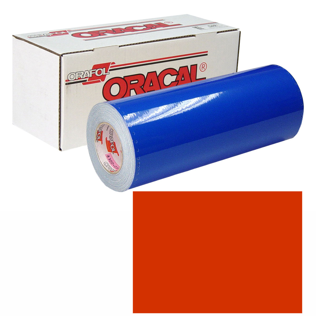 ORACAL 631 Unp 30in X 50yd 047 Orange Red