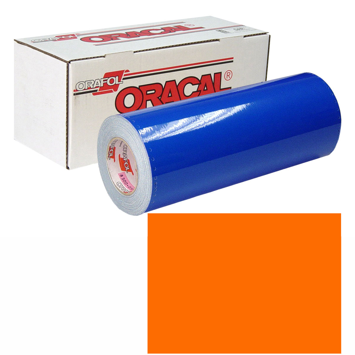 ORACAL 631 Unp 48in X 50yd 035 Pastel Orange