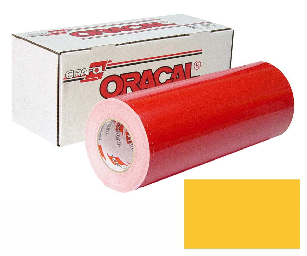 ORACAL 341 15In X 50Yd 021 Yellow