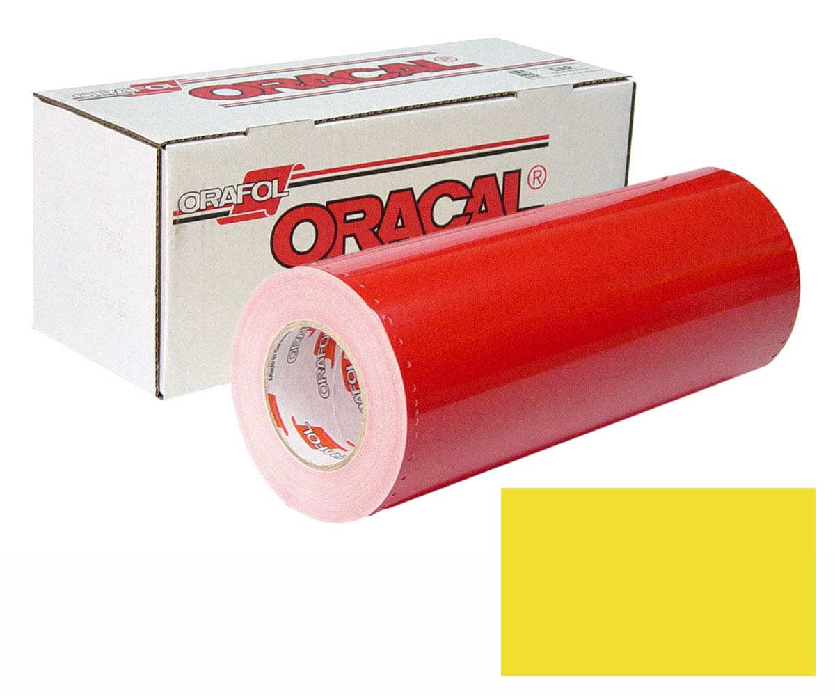 ORACAL 341 15In X 50Yd 025 Brimstone Yellow