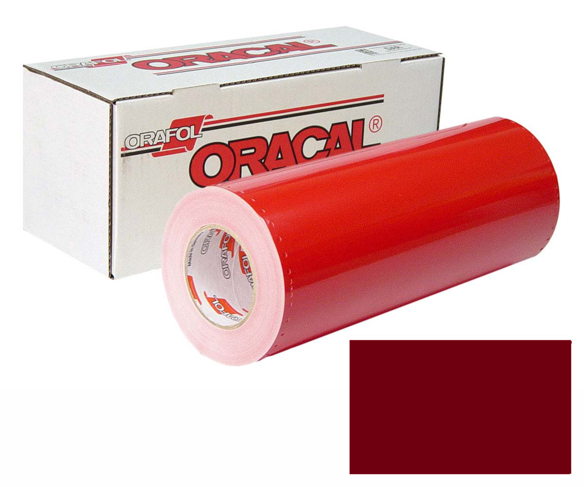 ORACAL 341 15In X 50Yd 312 Burgundy