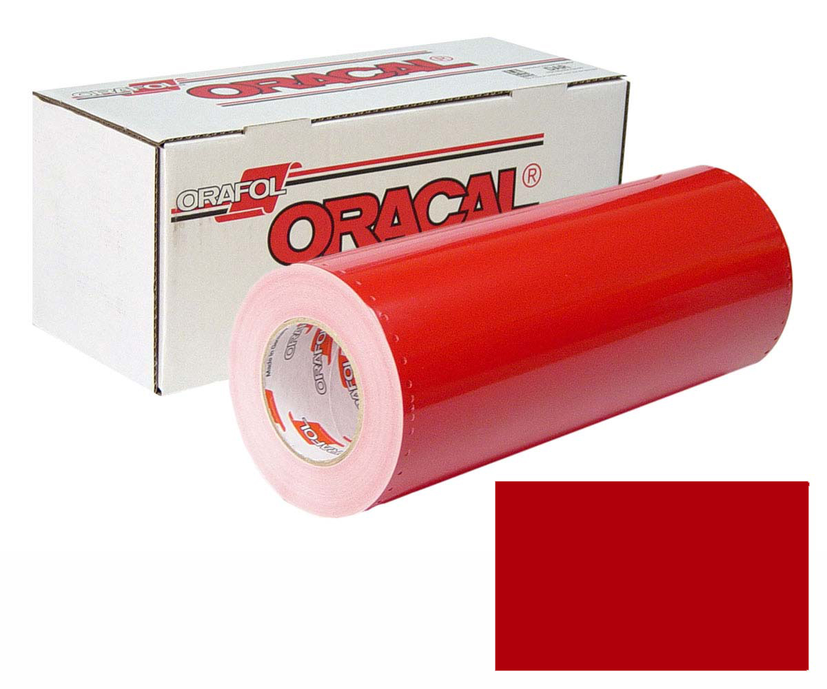 ORACAL 341 15in X 50yd 031 Red Matte