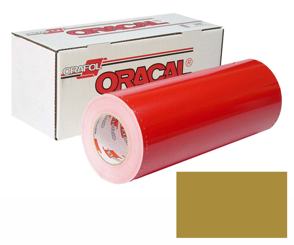 ORACAL 341 15In X 50Yd 091 Gold Metallic