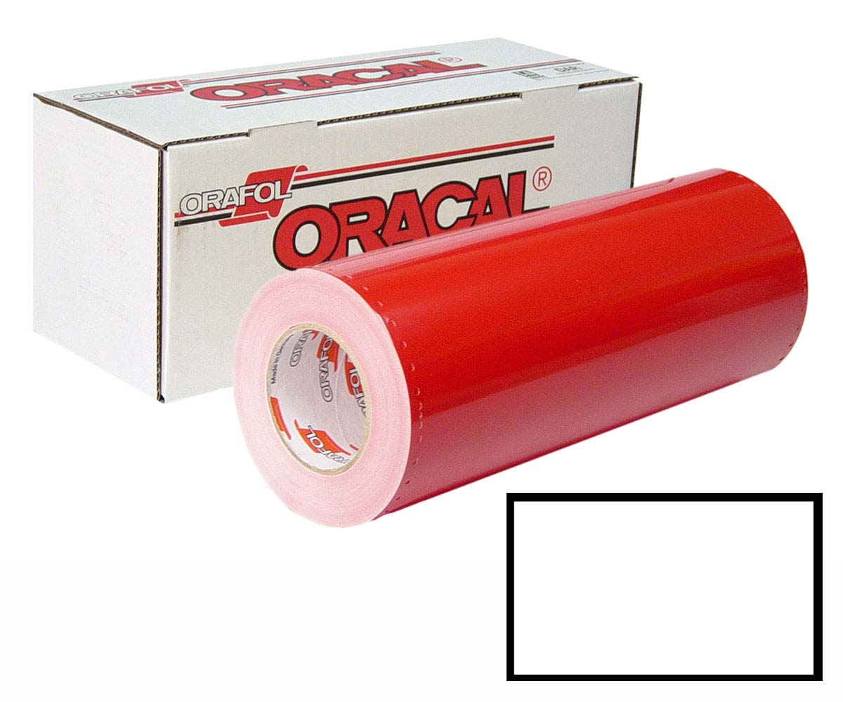 ORACAL 341 24in X 50yd Unp 010 White