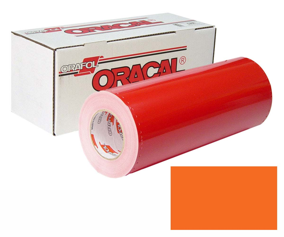 ORACAL 341 24in X 50yd Unp 035 Pastel Orange