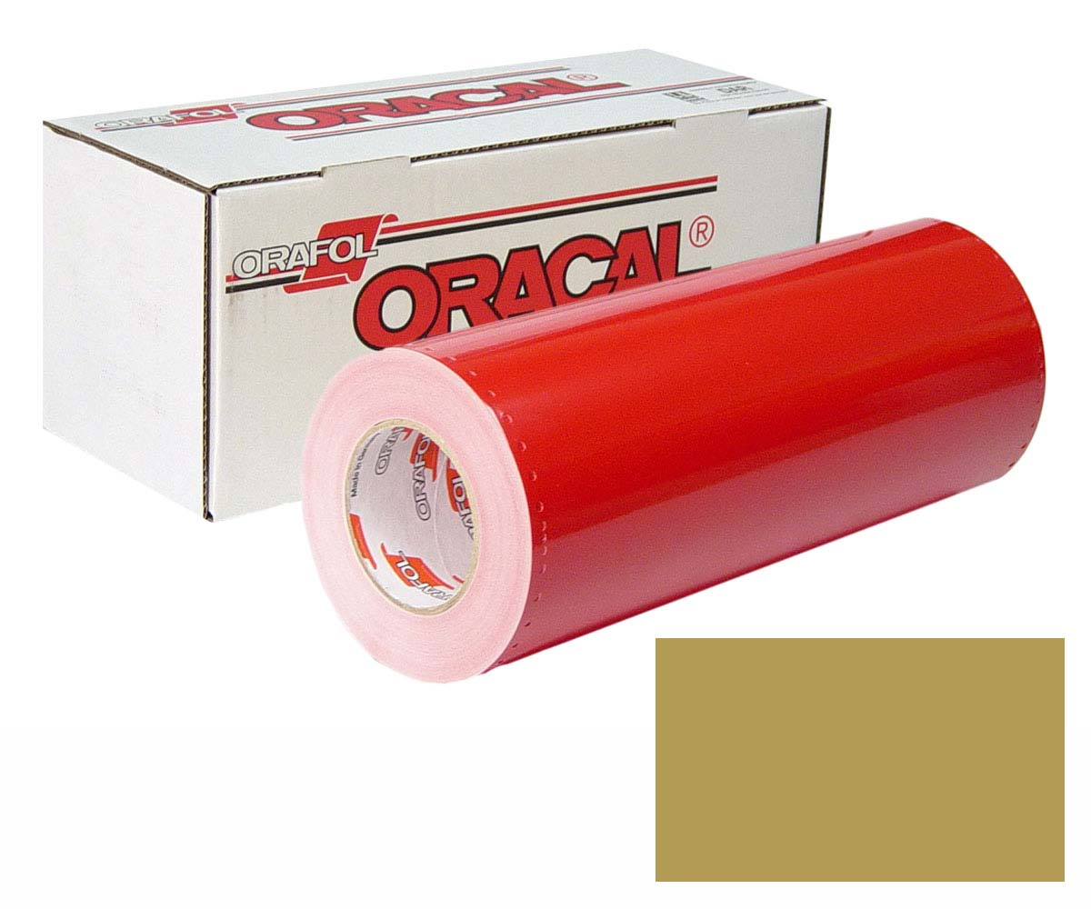ORACAL 341 24in X 50yd Unp 091 Gold Metallic