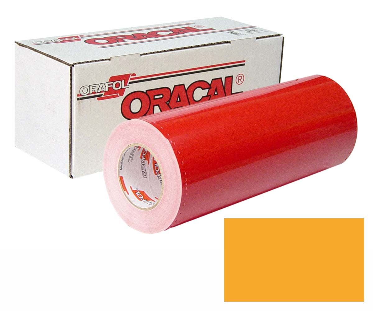ORACAL 341 48in X 50yd Unp 020 Golden Yellow