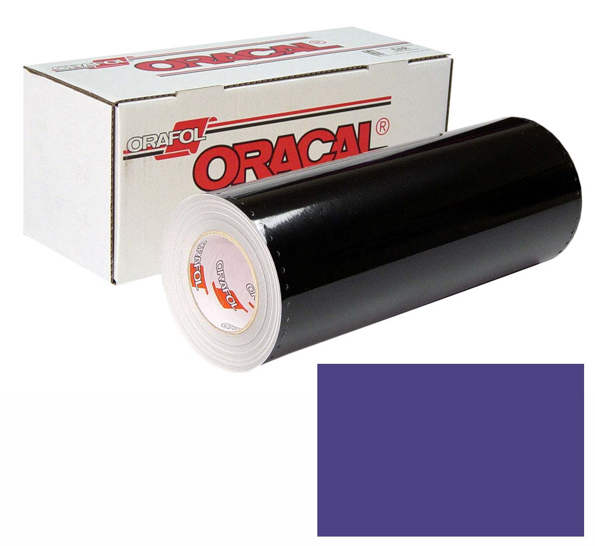 ORACAL 641 Unp 24In X 50Yd 518 Steel Blue