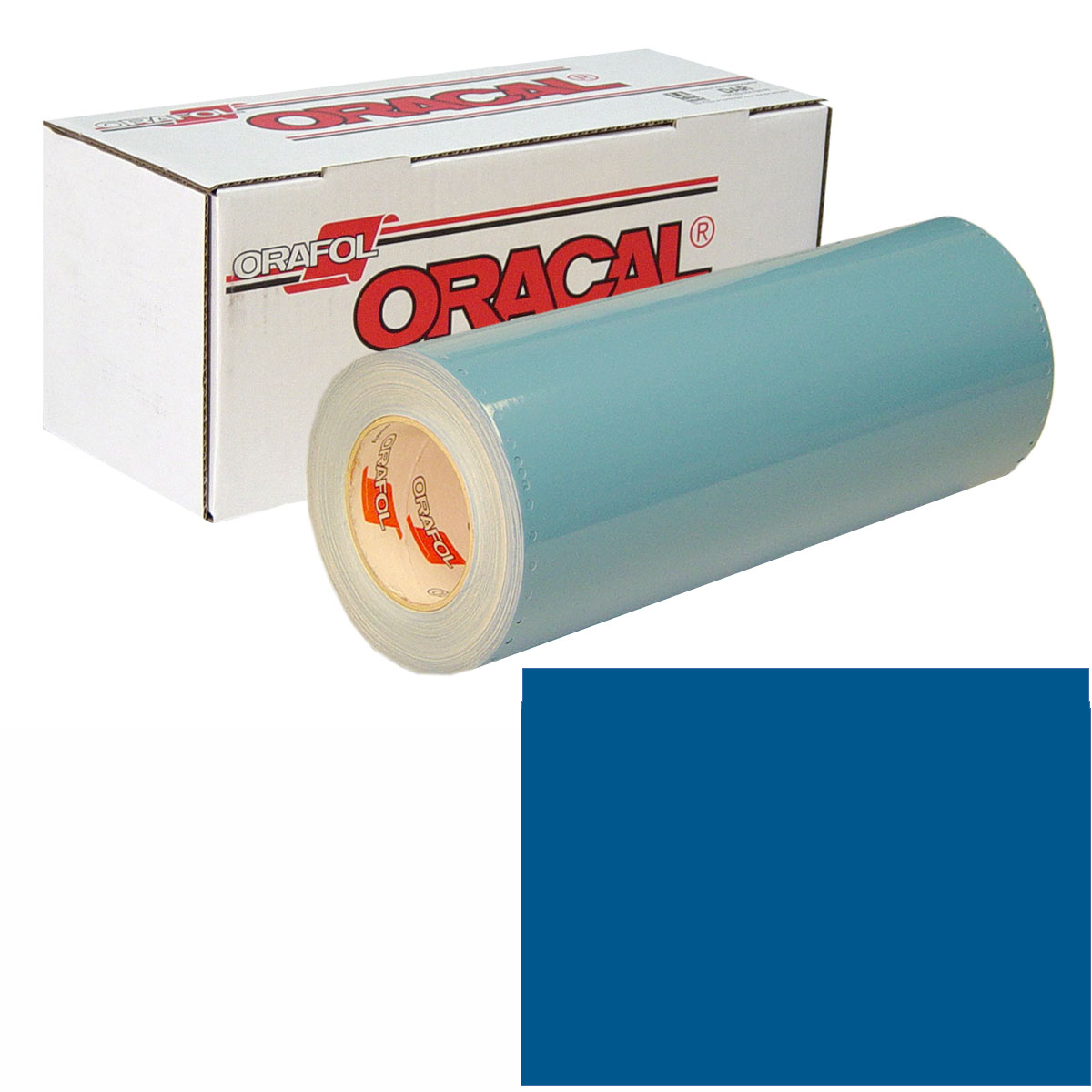ORACAL 751 15in X 10yd 051 Gentian Blue