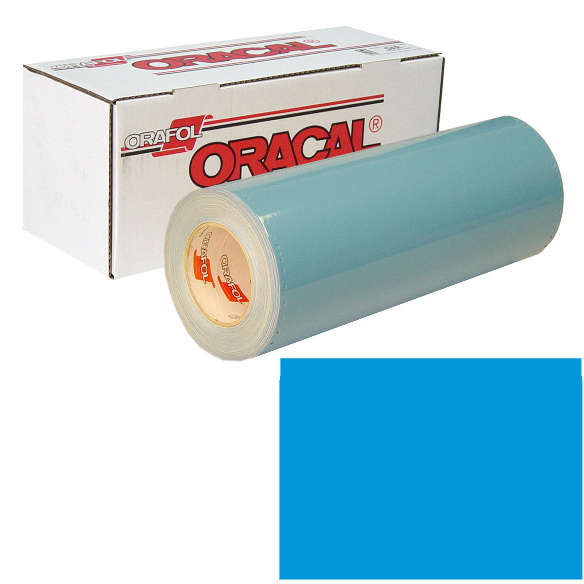 ORACAL 751 15In X 10Yd 052 Azure Blue