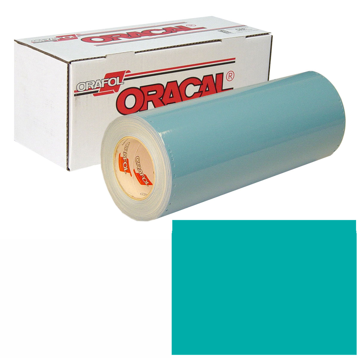ORACAL 751 15In X 10Yd 054 Turquoise