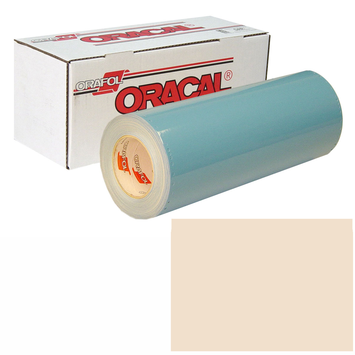 ORACAL 751 15In X 50Yd 018 Light Ivory