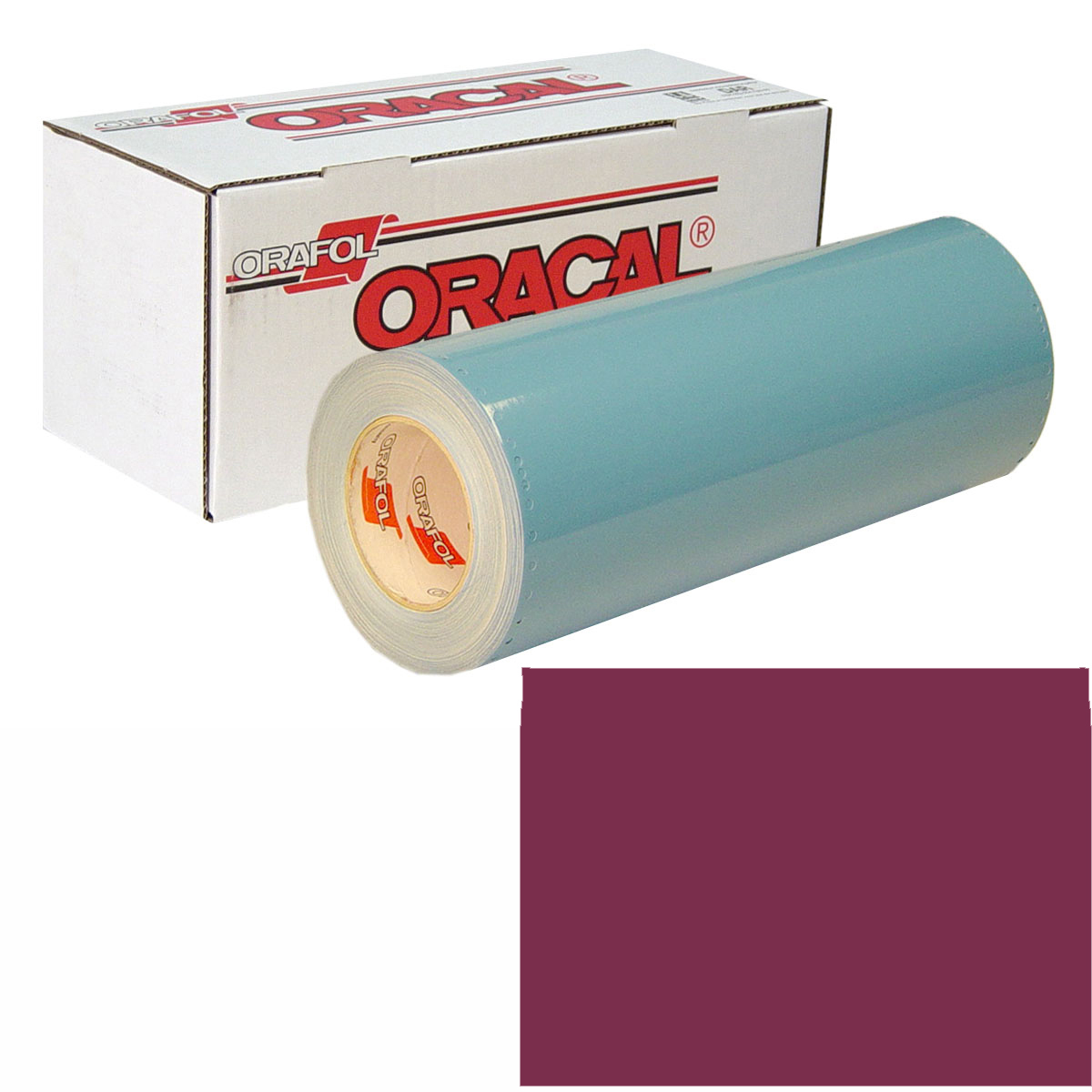ORACAL 751 15In X 50Yd 026 Purple Red
