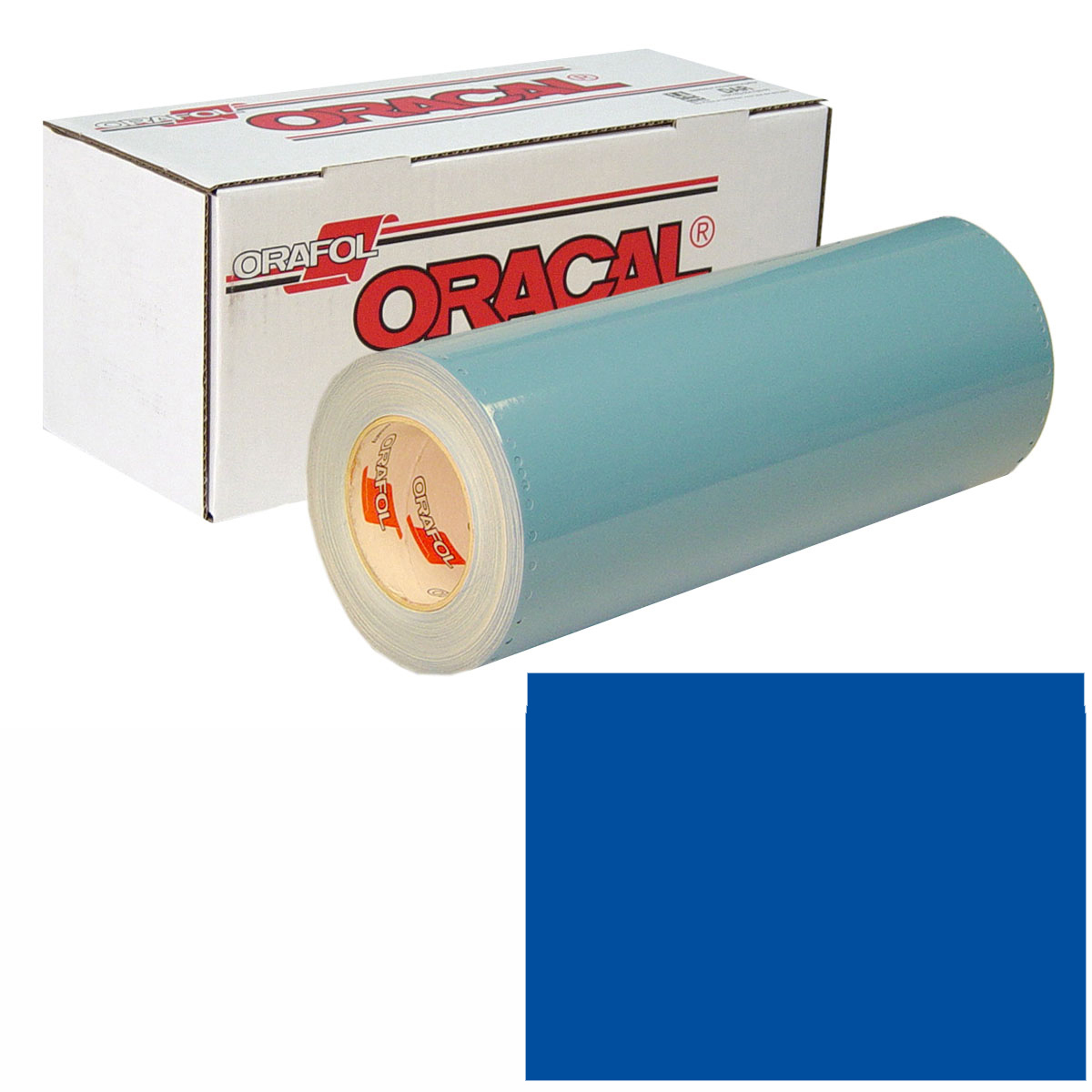 ORACAL 751 15In X 50Yd 057 Traffic Blue