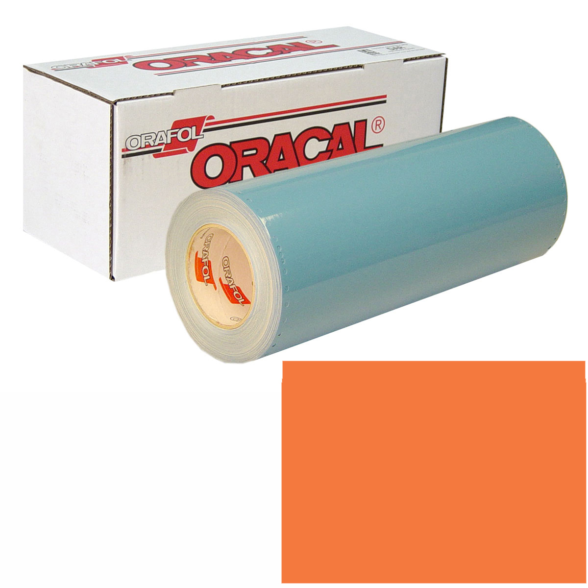ORACAL 751 Unp 24in X 10yd 033 Red Orange