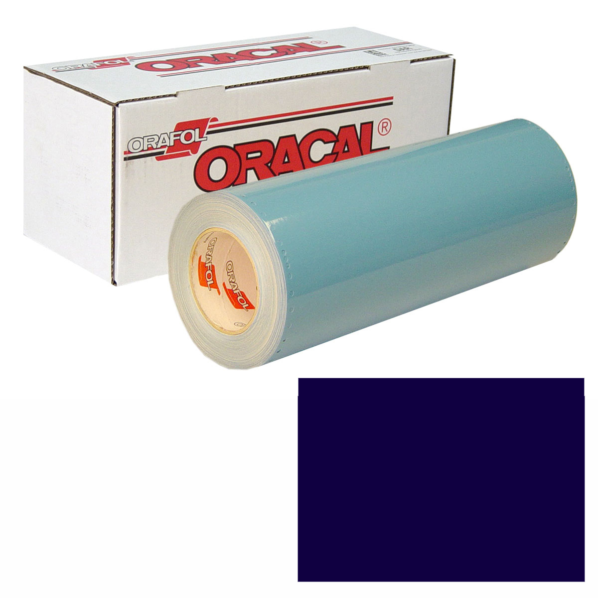ORACAL 751 Unp 24in X 10yd 532 Black Blue