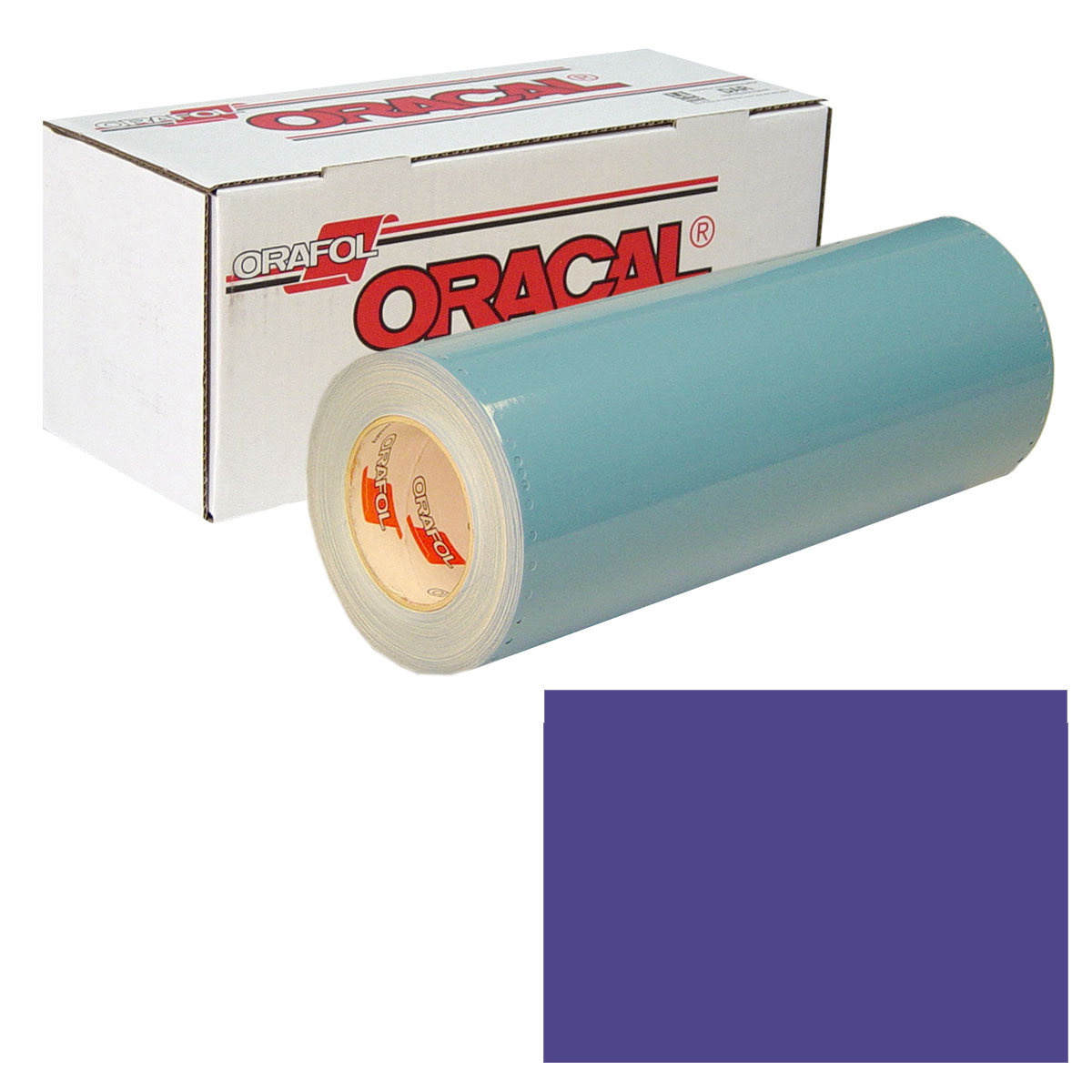 ORACAL 751 Unp 24in X 10yd 518 Steel Blue