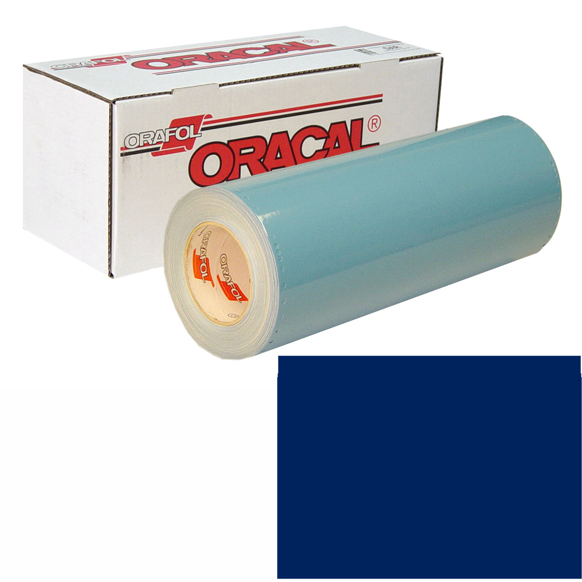 ORACAL 751 Unp 24in X 10yd 058 Ultramarine Bl