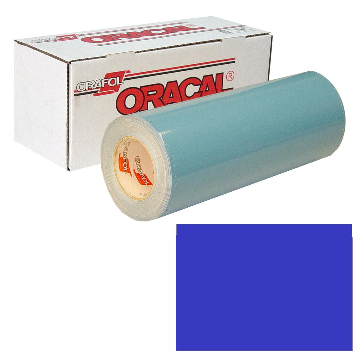 ORACAL 751 Unp 24in X 10yd 086 Brilliant Blue