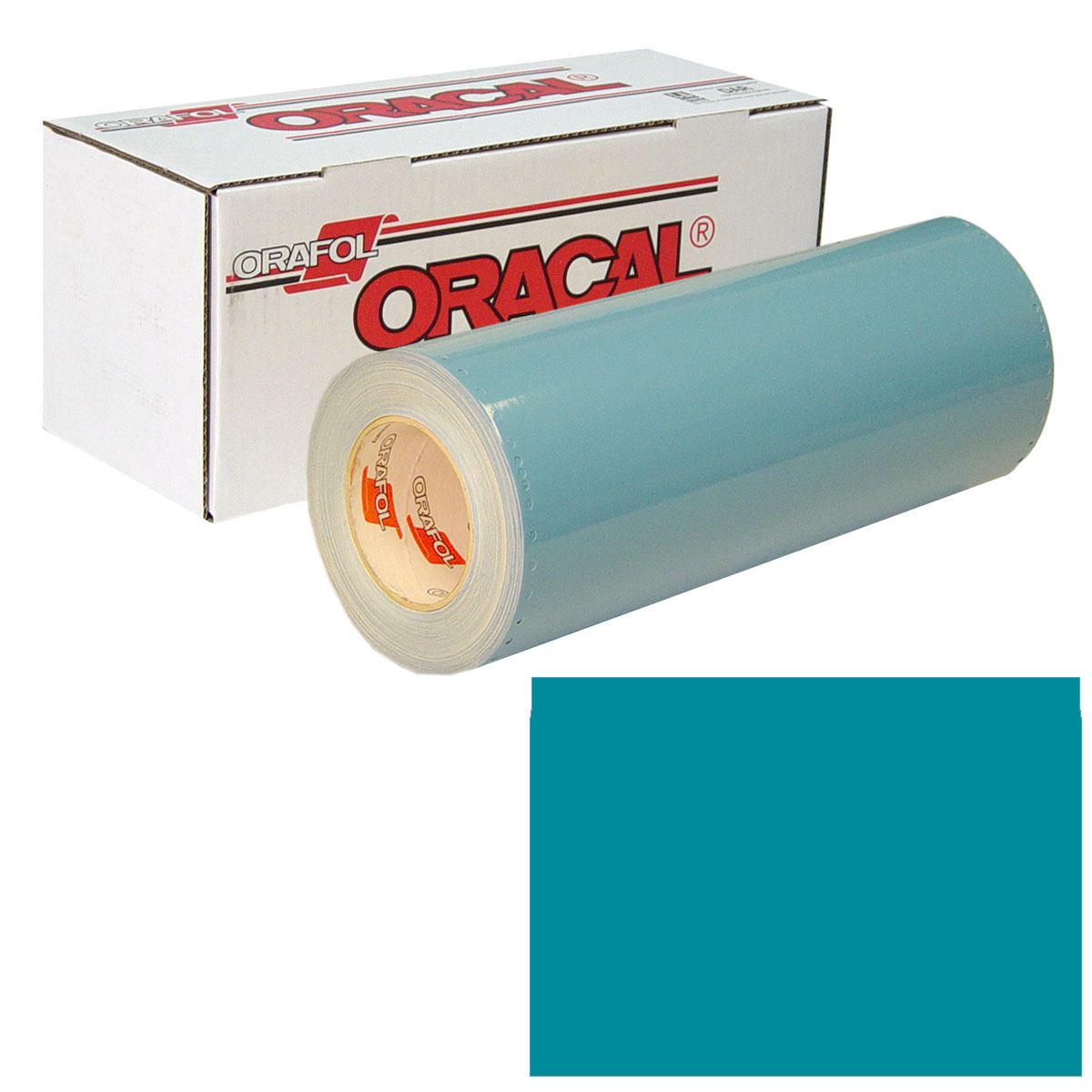 ORACAL 751 Unp 24in X 10yd 066 Turquoise Blue