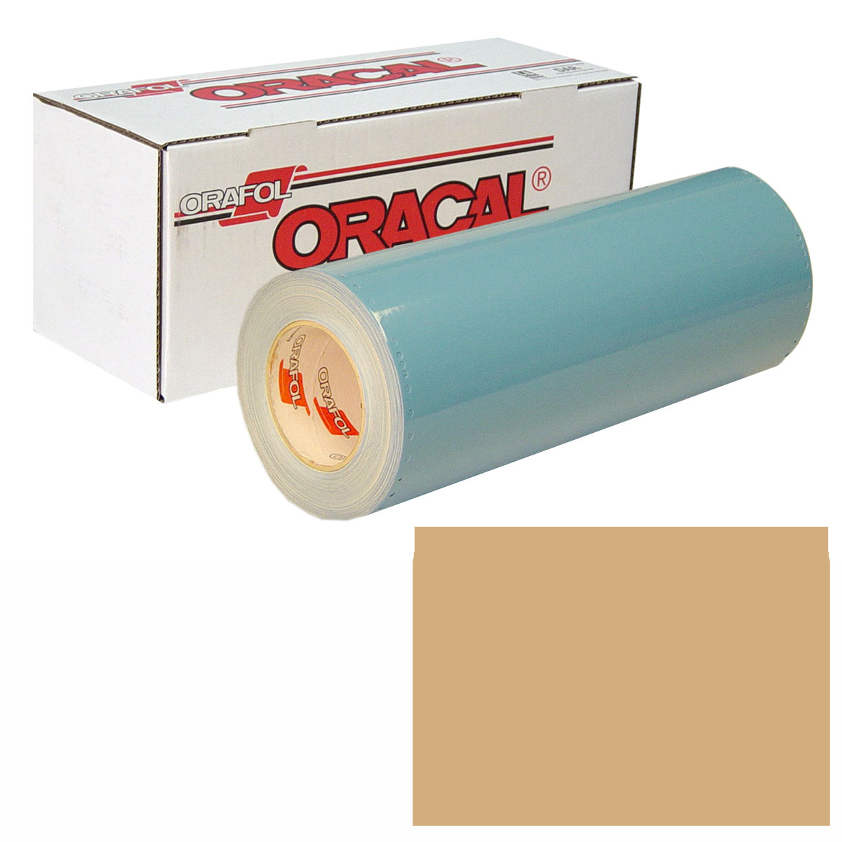 ORACAL 751 Unp 24in X 10yd 081 Light Brown