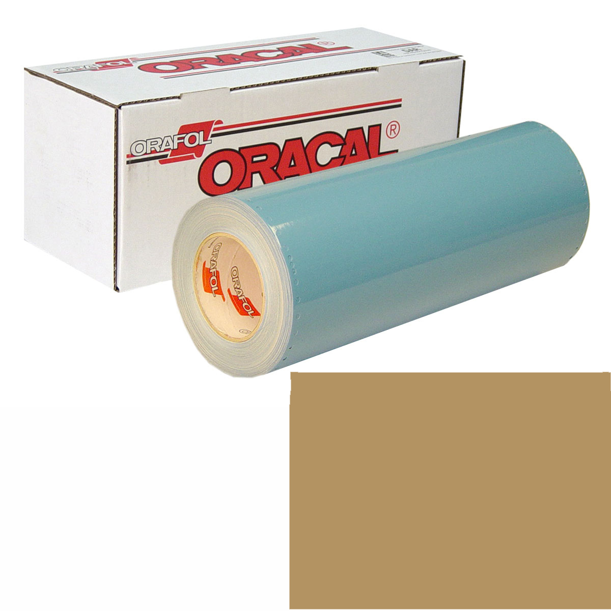 ORACAL 751 Unp 24in X 10yd 930 Gold Metallic