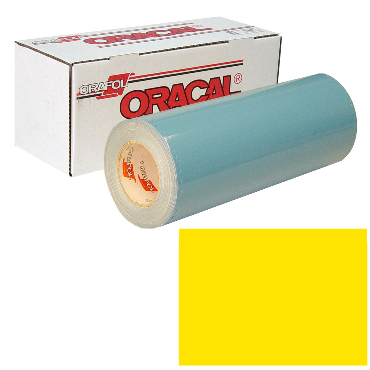 ORACAL 751 Unp 24In X 50Yd 022 Light Yellow