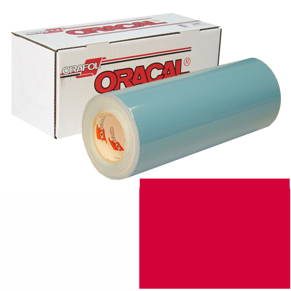 ORACAL 751 Unp 24in X 50yd 032 Light Red
