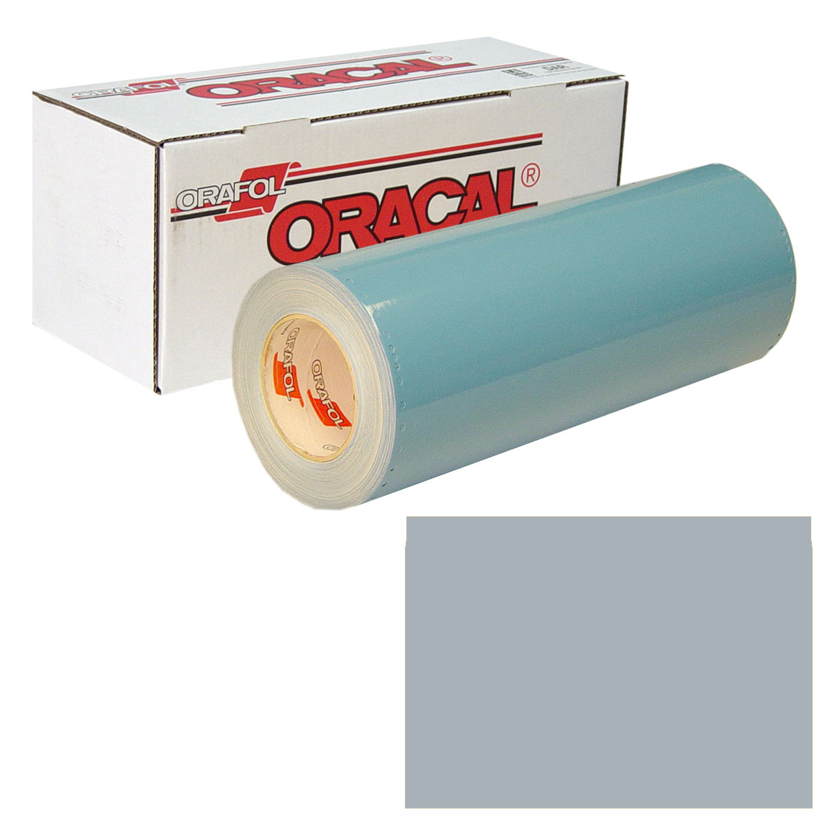 ORACAL 751 Unp 24in X 50yd 090 Silver Grey