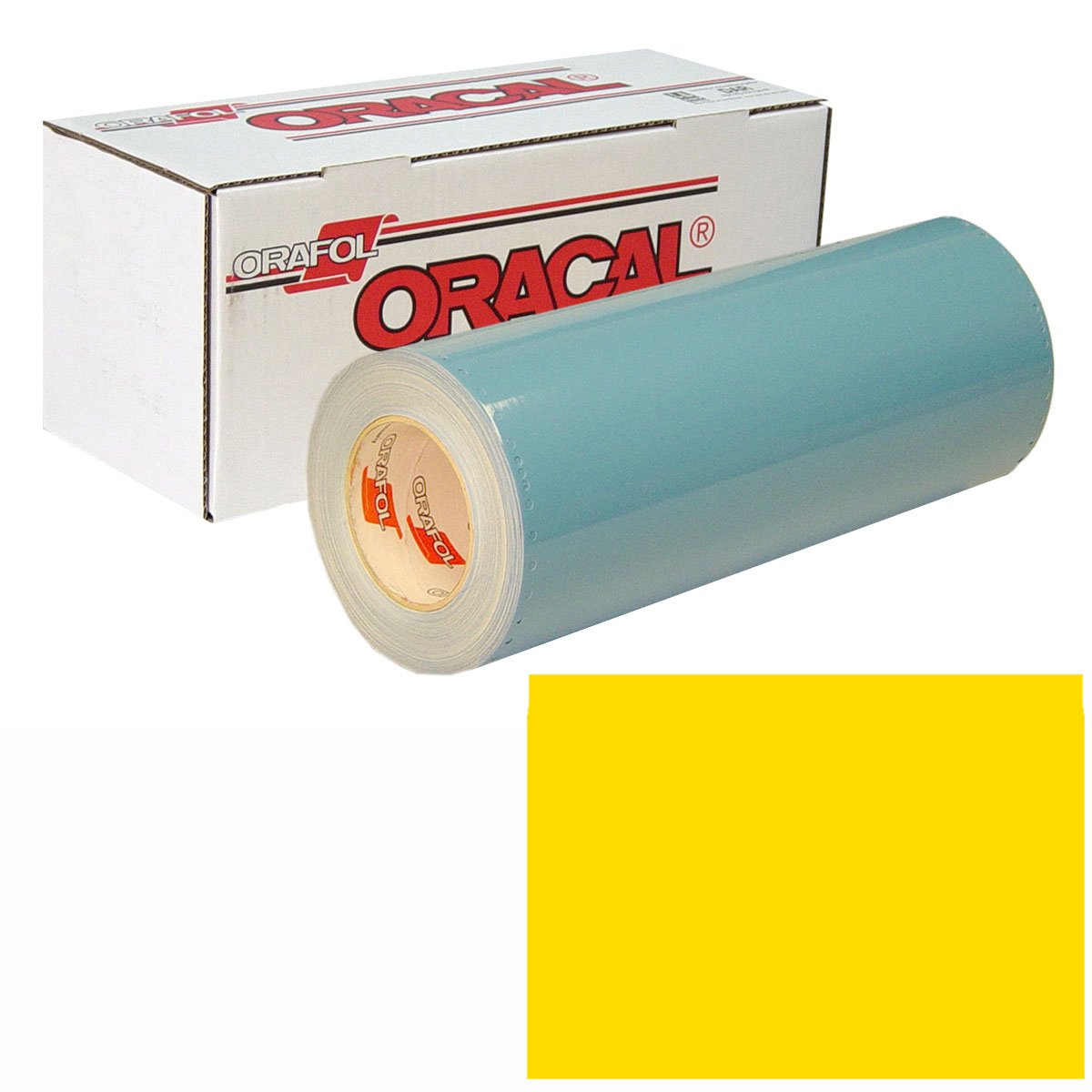 ORACAL 751 30In X 50Yd 021 Yellow