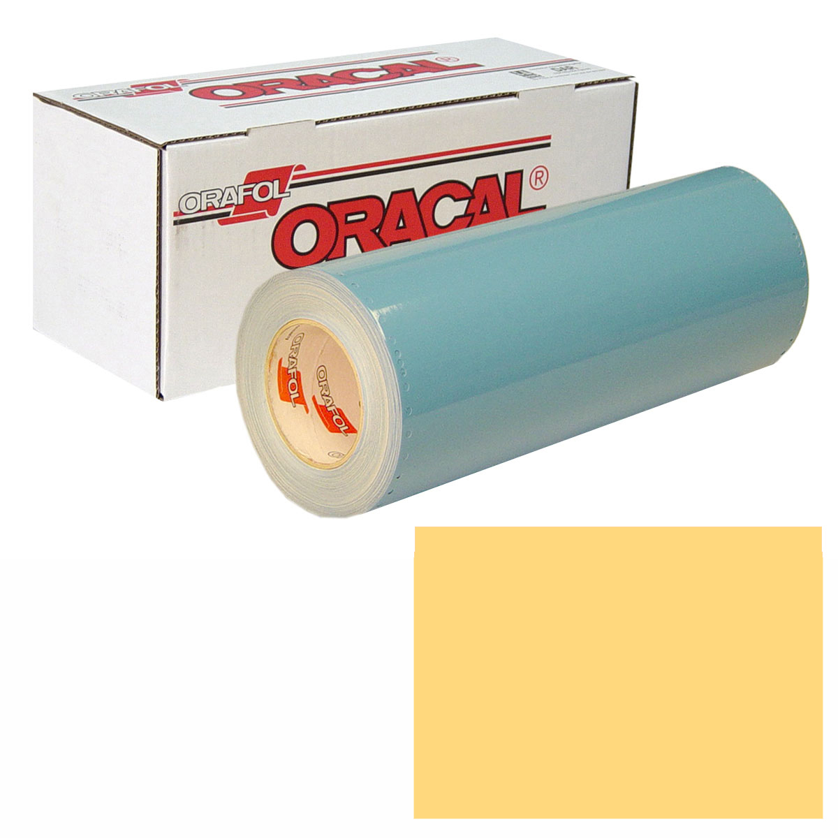 ORACAL 751 Unp 48in X 10yd 211 Sun Yellow