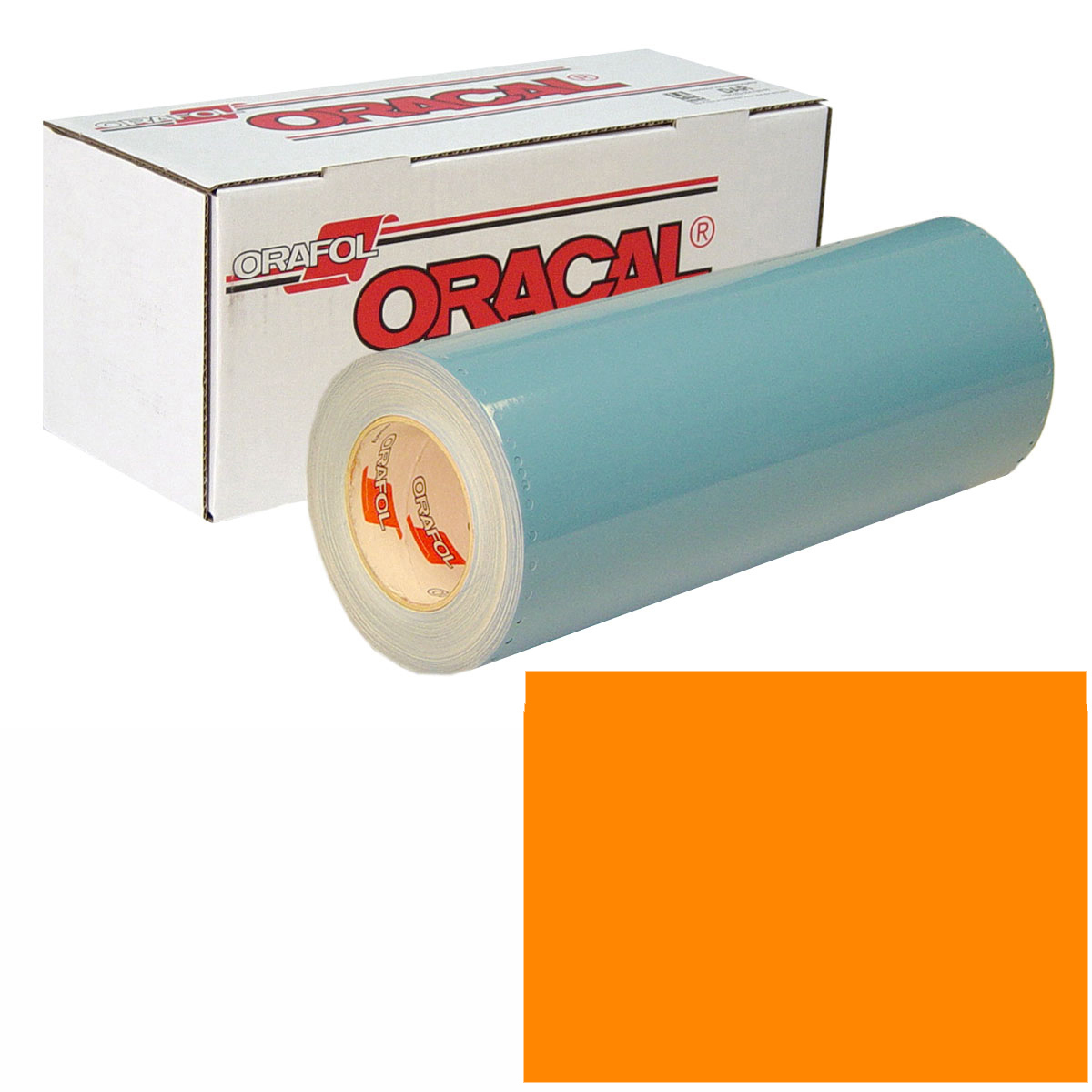 ORACAL 751 Unp 48In X 10Yd 035 Pastel Orange