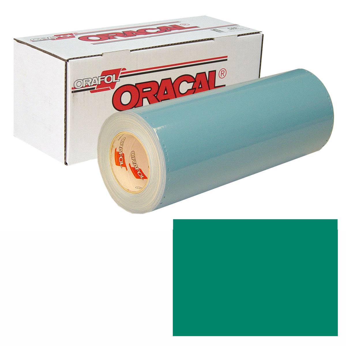 ORACAL 751 Unp 48In X 10Yd 607 Turquoise Gree