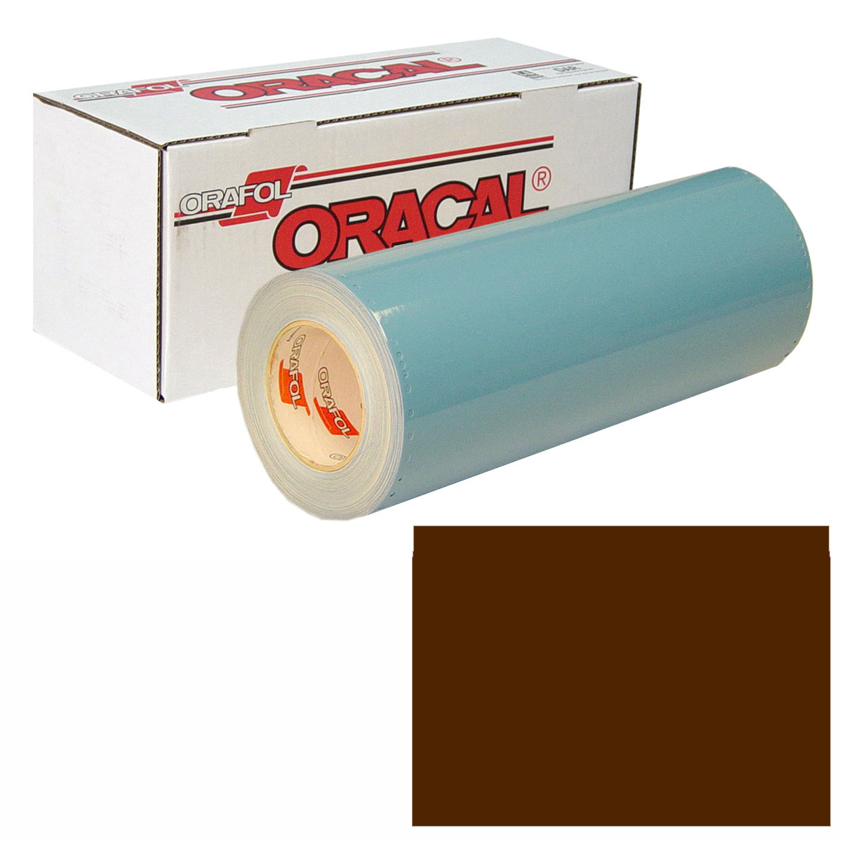 ORACAL 751 Unp 48in X 10yd 080 Brown
