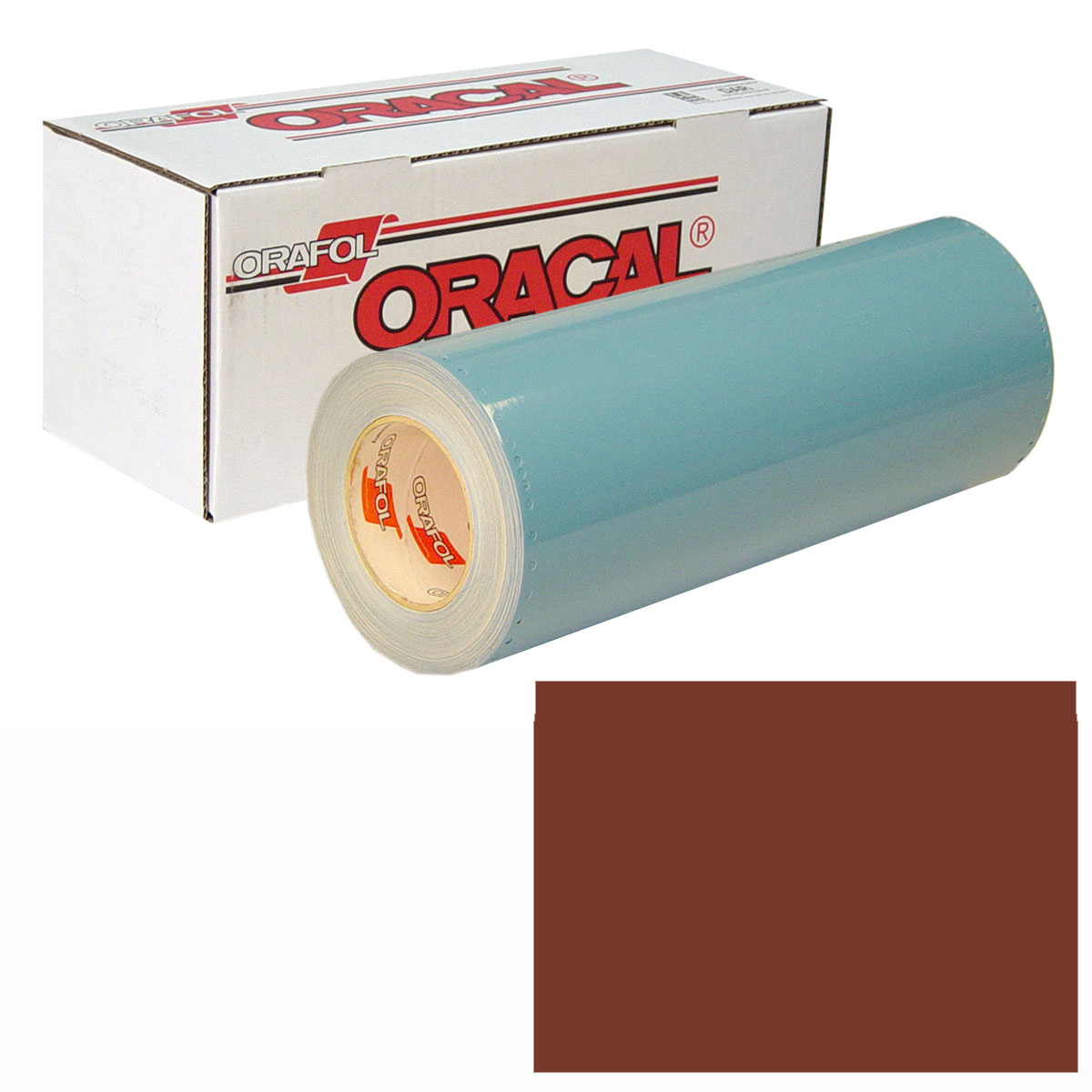 ORACAL 751 Unp 48in X 10yd 079 Red Brown