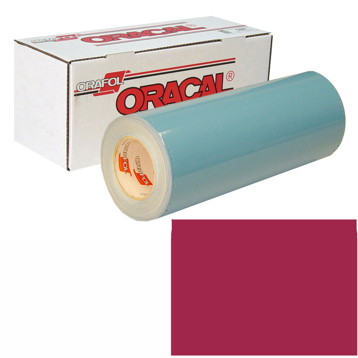 ORACAL 751 Unp 48in X 50yd 030 Dark Red