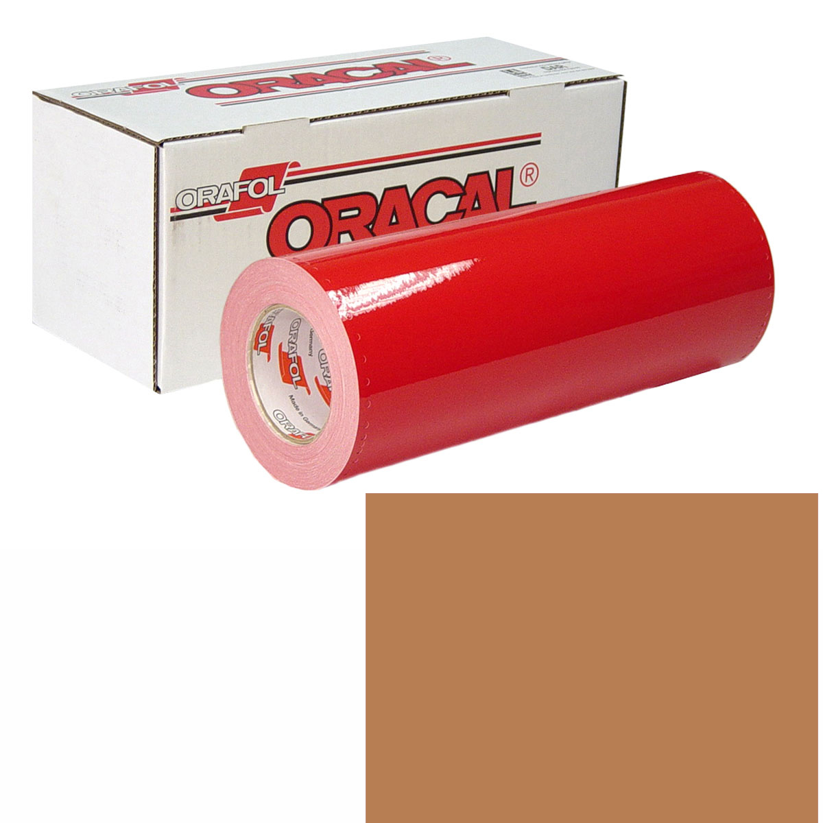 ORACAL 951M 30In X 10Yd 366 Red Gold