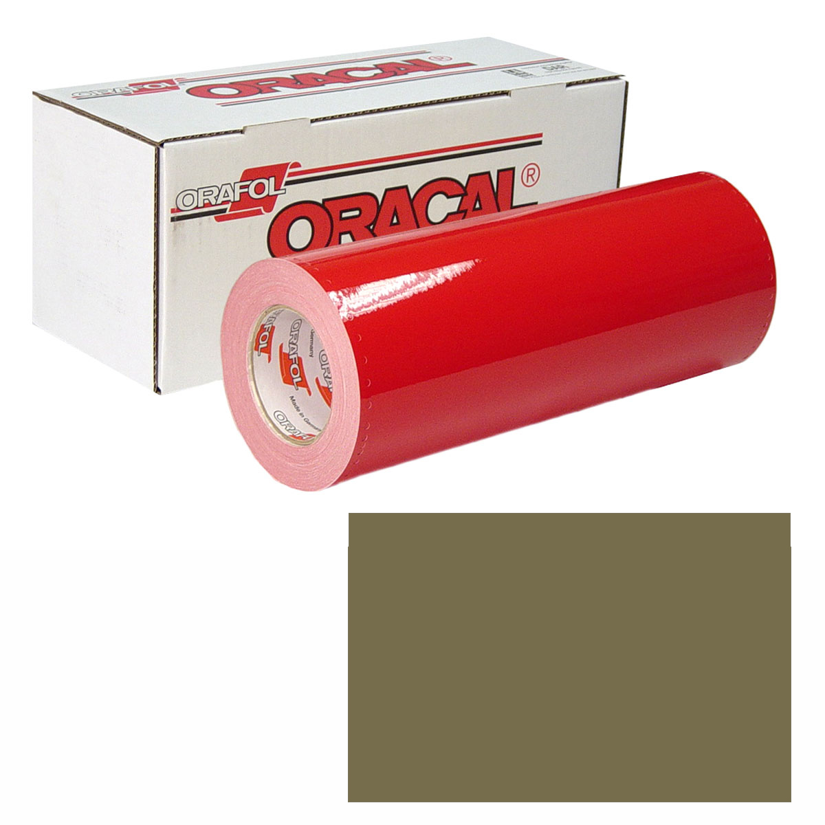 ORACAL 951M Unp 24In X 10Yd 680 Steppe Green
