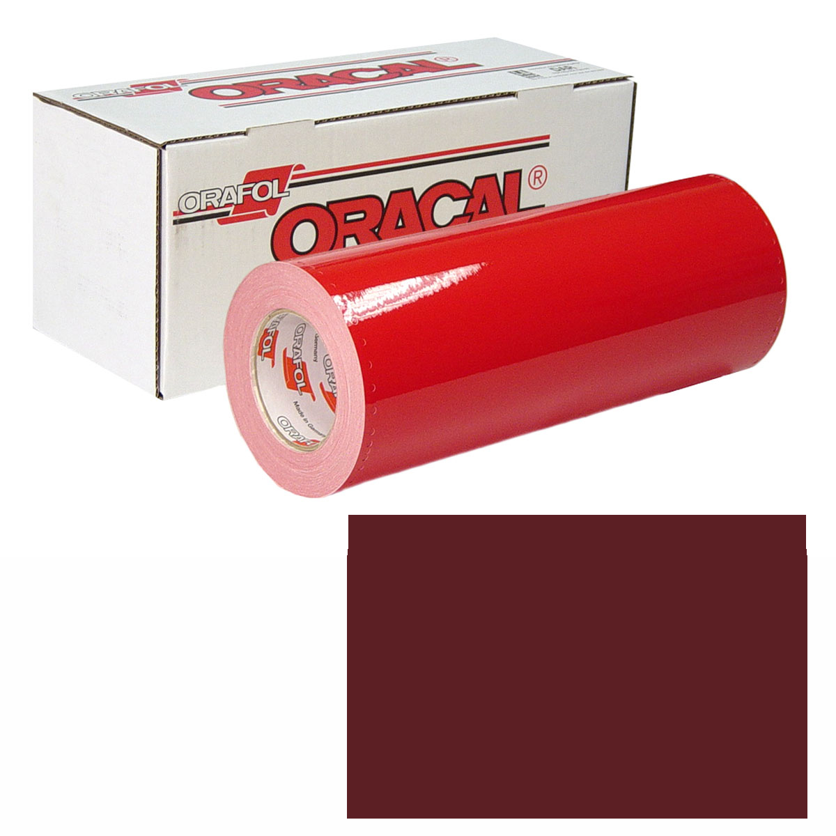 ORACAL 951M 15In X 50Yd 369 Red Brown