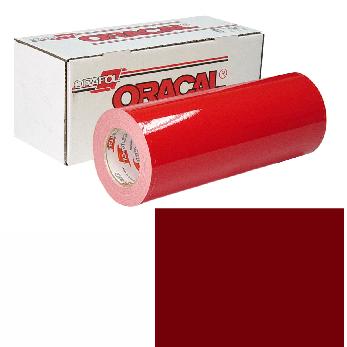 ORACAL 951M 15in X 50yd 368 Dark Red Met